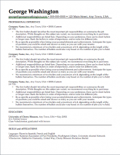 select a template redesign my resume